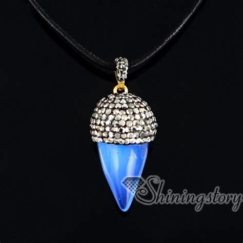 precious stones for jewelry cone pendants semi precious stones jewelry semi