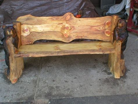 cfire benches wood carving saw