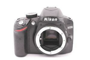 nikon d3200 24 2mp digital slr black only shutter count 5415 18208254927 ebay