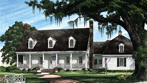colonial cottage house plans cape cod colonial cottage country plantation southern house plan 86270