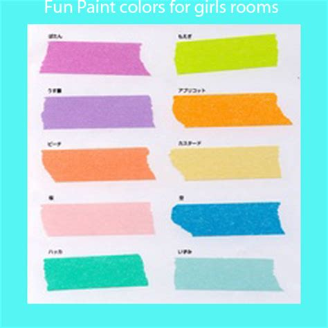paint colors for girls bedroom teenage girl bedroom paint colors large and beautiful