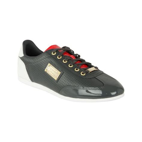firetrap mens dr jolly ii trainers lace fastening low top