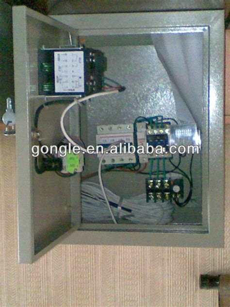 exhaust fan temperature switch control panel for exhaust fan control box buy time