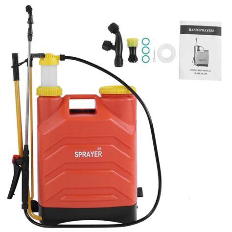 large capacity pressure manual backpack sprayer