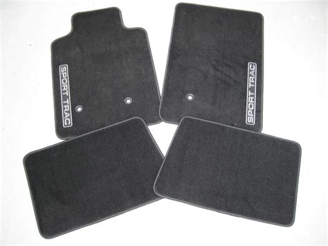 Sport Trac Floor Mats by 2007 2008 2009 2010 Ford Explorer Sport Trac Carpeted