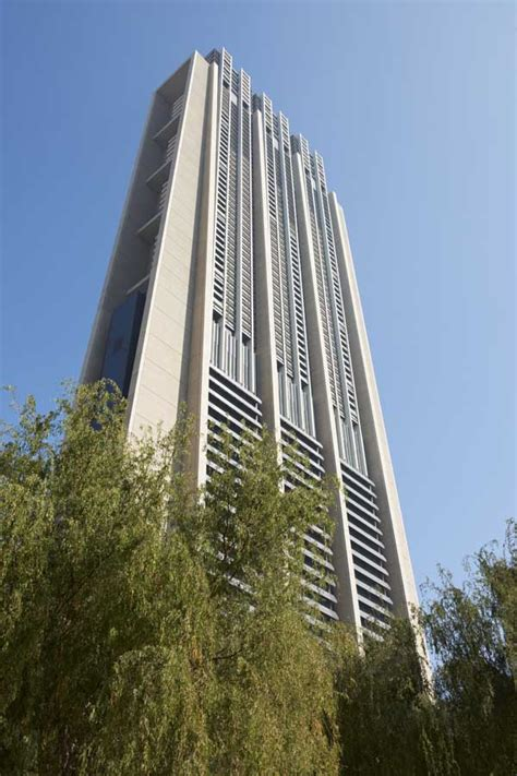 Indahx Dunia the index tower dubai foster partners uae e architect