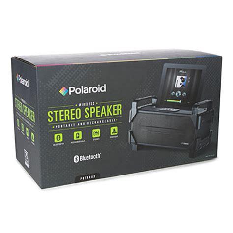 Polaroid Rugged Bluetooth Speaker by Polaroid 174 Bluetooth 174 Rugged Stereo Speaker Big Lots