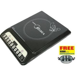 induction cooker kadai induction cooker with steel kadai buy from shopclues