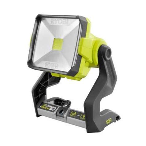 ryobi 18 volt one dual power 20 watt led work light tool