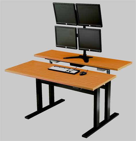 desks for standing adjustable computer desk for standing image mag