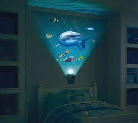 aquatic nighttime projectors walls shark encounter