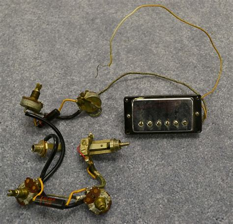 vintage 1968 gibson es 335 wiring harness reverb