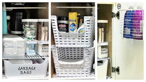 organize   kitchen sink youtube