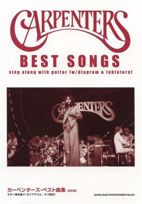 carpenters for ukulele books carpenters best songs for guitar and vocal sheet