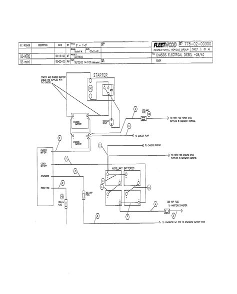2003 Fleetwood Discovery Wiring Diagram Wiring Library