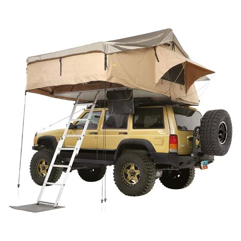 3 Car Garage Dimensions Smittybilt 174 2883 Overlander Coyote Tan Xl Roof Tent