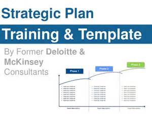 Strategic Planning Course Outline by Strategic Plan Template