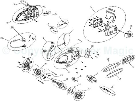 025 stihl chainsaw parts diagram ryobi ecs2035 spares