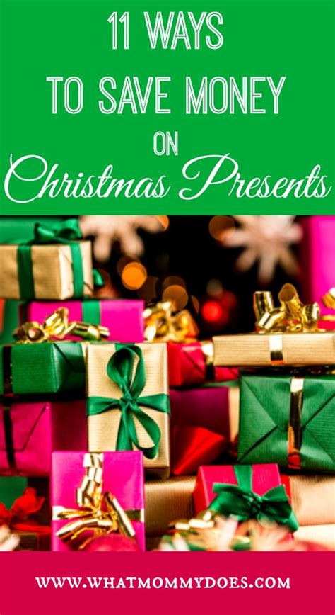 how to save money on christmas presents 11 ways to save money on presents what does