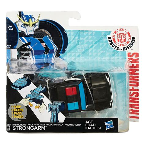 Mainan Figure Wars Pesawat Induk Millennium Falcon Hasbro robots in disguise one step gold armor grimlock and patrol strongarm new images transformers