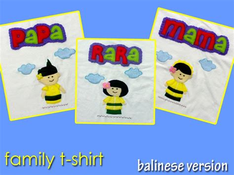 Kaos Sunday Sunday H kaos flanel family t shirt balinese version peewee flanel