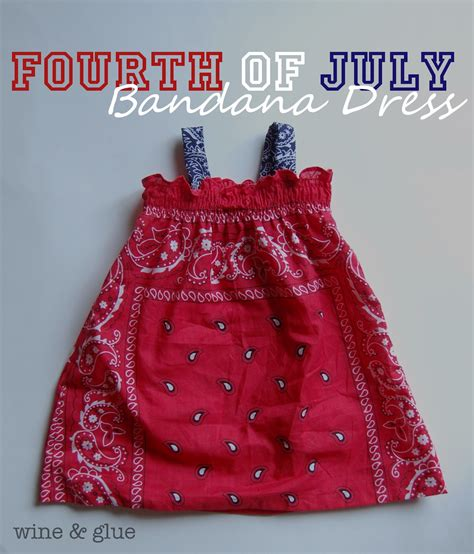 Dress Bandana Baby fourth of july bandana dress with matching bandana shirt