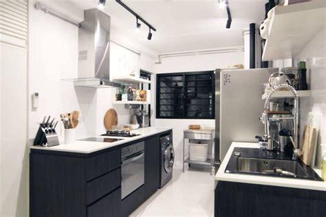 room hdb flat  tampines singapore black  white