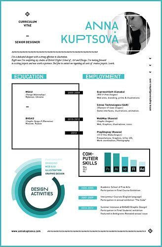 resume infographic and search engine on
