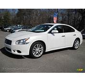 2010 Nissan Maxima 35 SV In Winter Frost White  811187