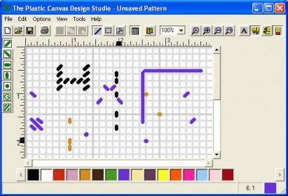 canvas layout software plastic canvas design studio download plastic canvas