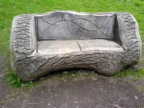 tree stump bench tree trunk bench things to make pinterest tree