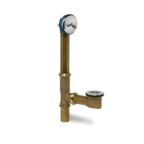 waste and overflow for bathtub ld10103 trip lever solid brass waste and overflow bath tub drain