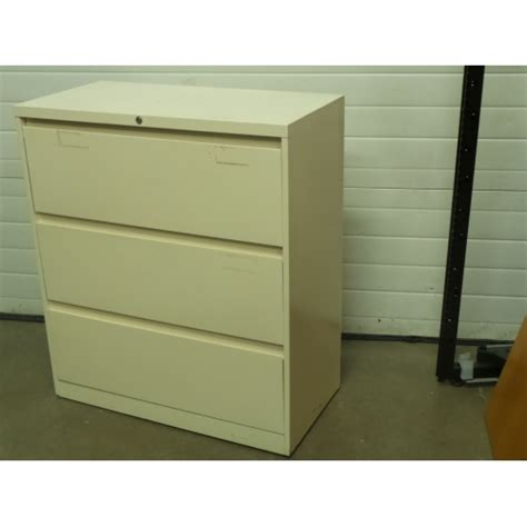 white 3 drawer lateral file cabinet locking allsold
