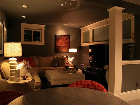 Basement Living Room by Decorations Fresh Cool Basement Ideas In Small House