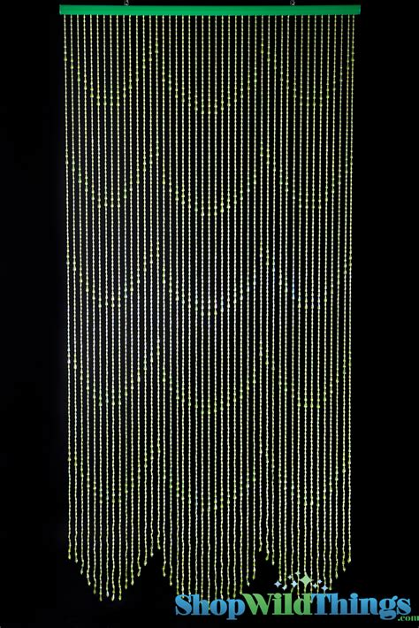 bead curtains green beaded curtain green door beads 3 x 6 raindrops