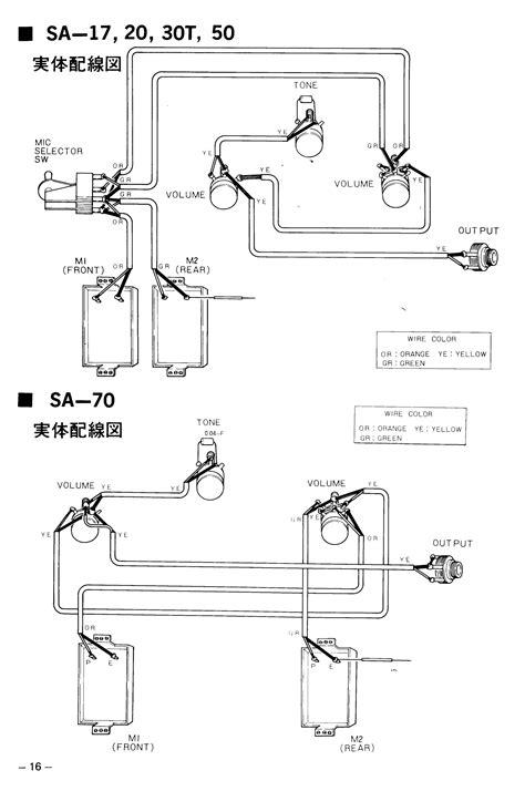 yamaha guitar wiring diagram wiring diagram 2018