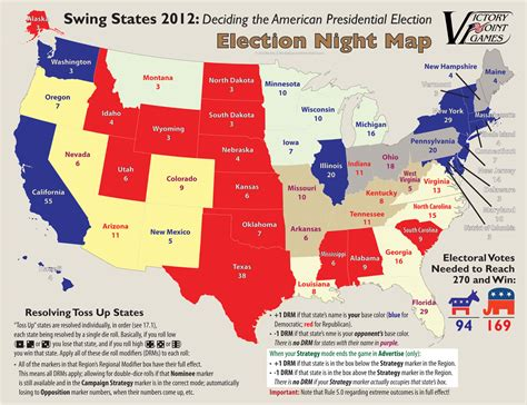 map of swing states swing states 2012 in final development at vpg the gaming