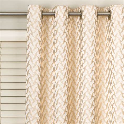 horizontal curtains eyelet curtains over horizontal blinds cover it up with