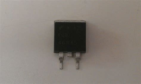 mosfet transistor uk transistor mosfet fqb46n15 fairchild semiconductor 150v 46 5a smd device for lg buffer board