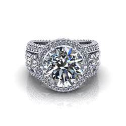 wedding rings 3 carats 3 carat halo engagement ring jewelry designs
