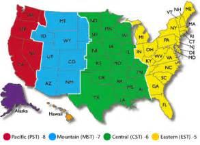 アメリカ時間 世界の時間 時差 地図情報 world time zone map