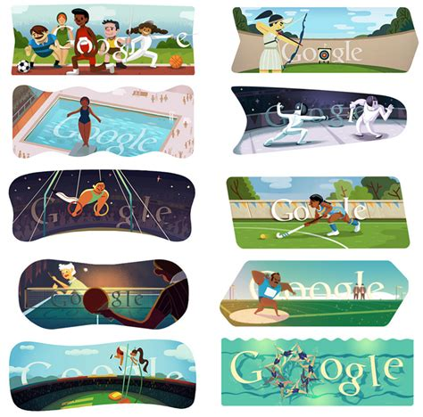 doodle hurdles just kicking it the olympic doodles just plain cool