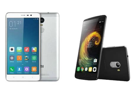 Lenovo K4 Note Vs Xiaomi Redmi Note 3 Top Note Smartphones H1 2016 Lenovo Vibe K4 Note Vs