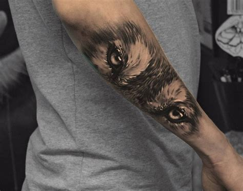 attitude tattoo designs wolf by kenn skogli at attitude oslo