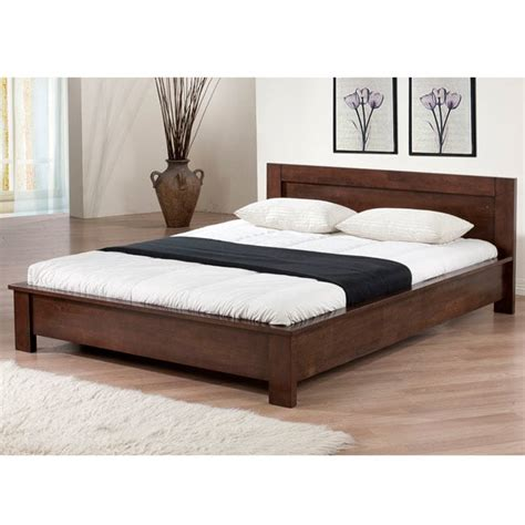full side bed alsa platform full size bed 80004550 overstock com