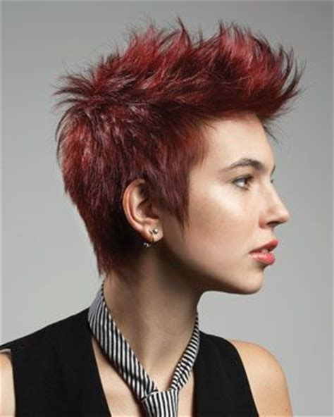 hair style for a nine ye women s faux hawk short hair short hair cuts pinterest