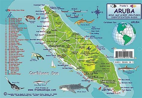 printable aruba road map aruba road maps detailed travel tourist driving