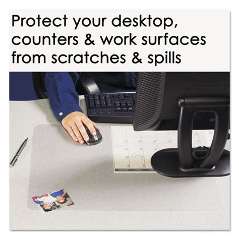artistic krystalview desk pad aop60240ms artistic krystalview desk pad with microban zuma