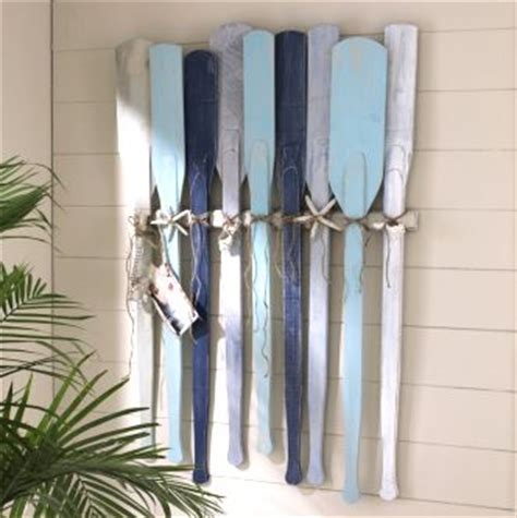 how to hang oars or paddles in an x shape the inspired head boards wall decor and beaches on pinterest