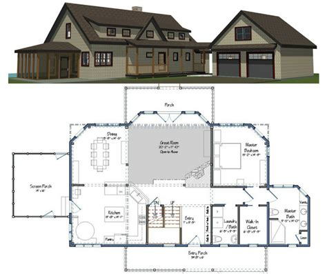 Builders Home Plans by New Yankee Barn Homes Floor Plans